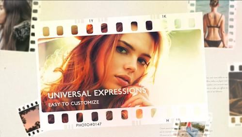 0024_FilmStrip Photo Slideshow  - After Effects Templates