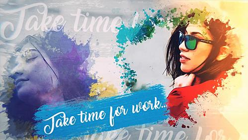 0026_water-color-promo After Effects - Template