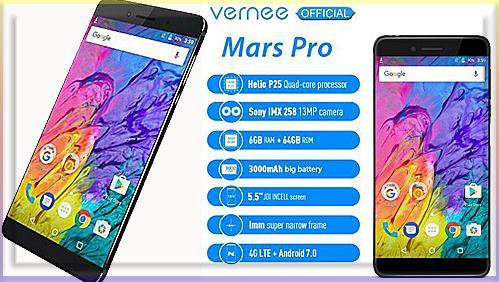 Vernee Mars Pro-восьмиядерный смартфон