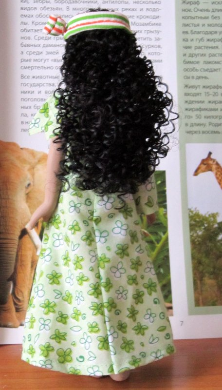 Куклы в Костюмах Народов Мира №50 - Мозамбик