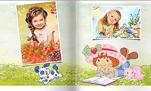 Project ProShow Producer 0095 Фотоальбом для девочки