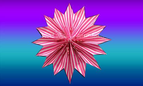 009 Weihnachten Sterne Origami