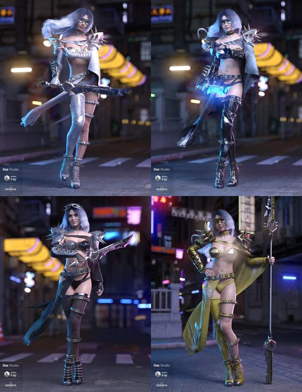 dForce Silk Shadow Outfit Bundle
