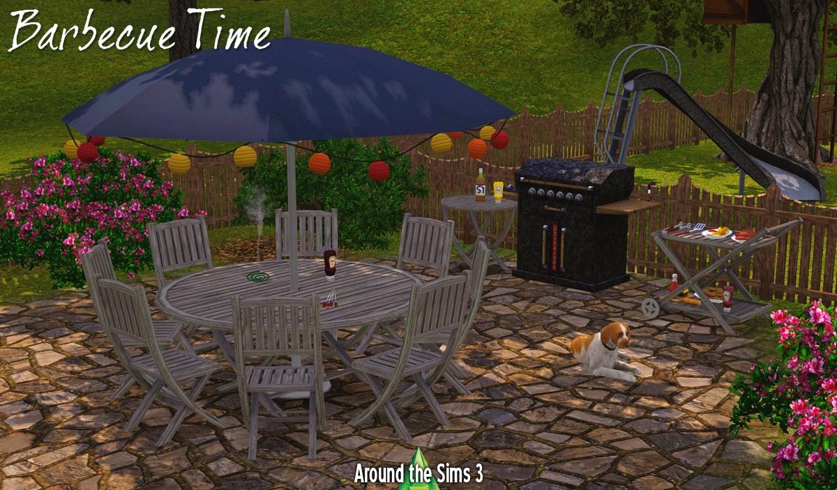 Мебель для улицы от aroundthesims3