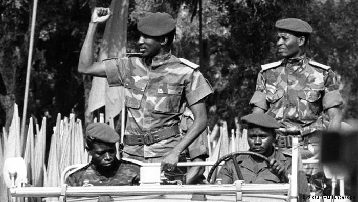 Тома Санкара после переворота 1983 года