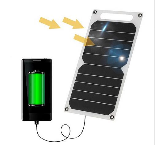 0010_Солнечная зарядка USB для мобильного смартфона