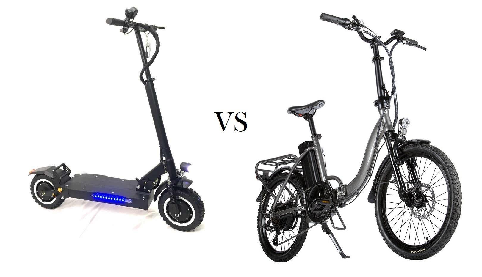 Что лучше – электровелосипед или электросамокат?