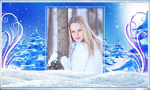 Project ProShow Producer 1097 Снег Кружится