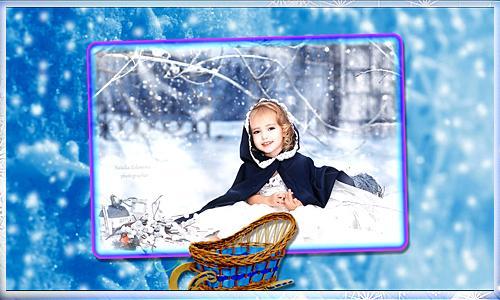 Project ProShow Producer 1099 Детский зимний