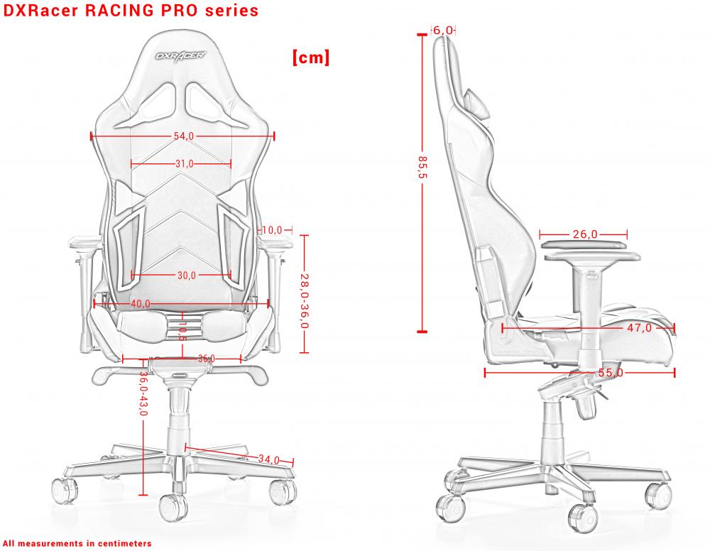 Модель 131 серии от компании DXRacer, это полноценное Профессиональное  киберспортивное кресло.