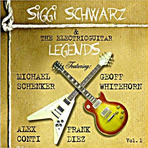Скачать Siggi Schwarz & The Electric Guitar Legends - The Siggi Schwarz & The Electricguitar Legends Vol. 1 (2004) Бесплатно