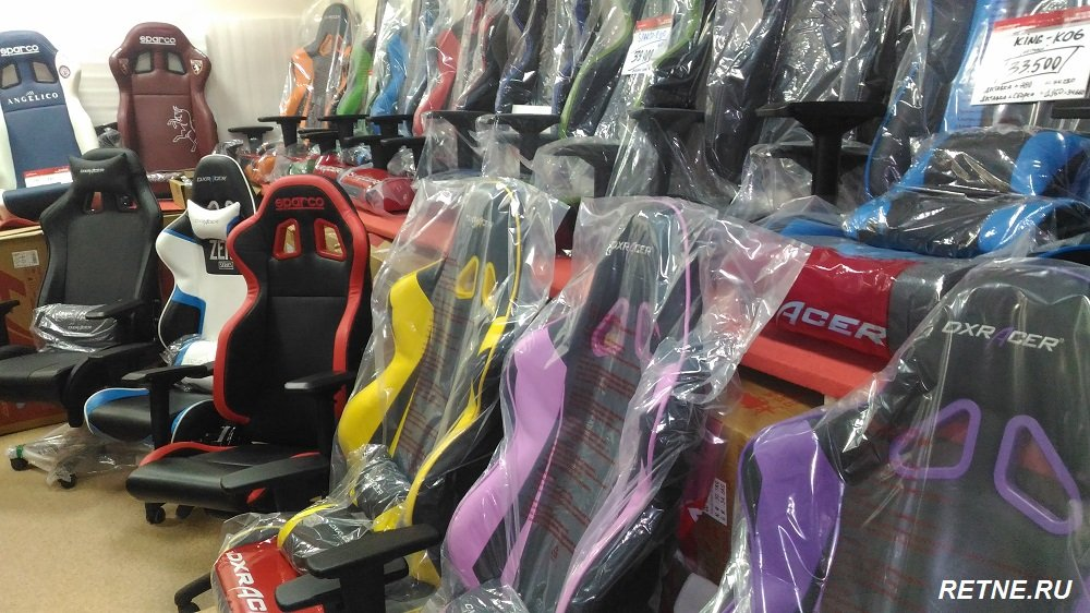 Игровой стул  DXRacer линейка RACING  OH/RE0/NY