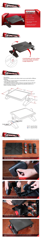Подставка для ног Dxracer FR/6033/N