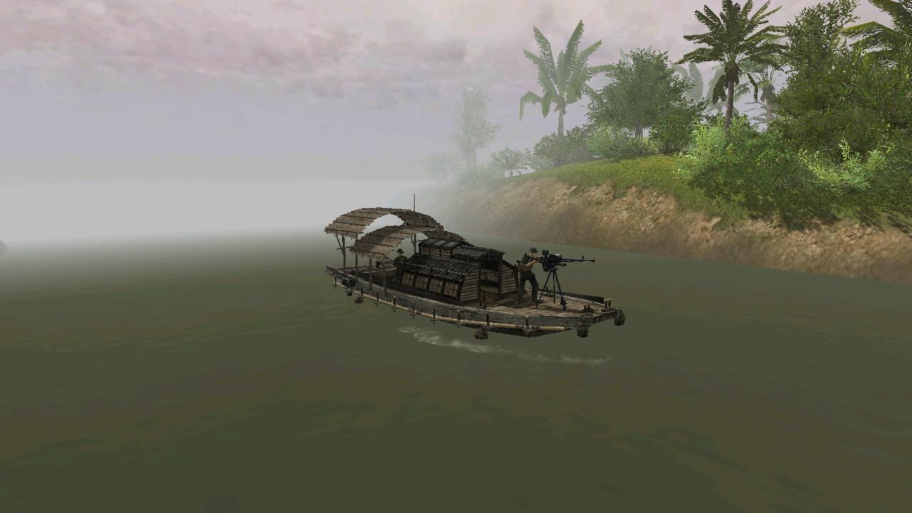 Колда на лодке с ДШК (версия 2)