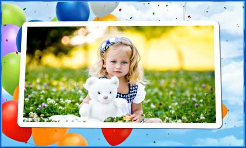 2043_Project ProShow Producer  детский день рождения