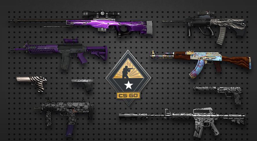 Покупка скинов для игры CS GO