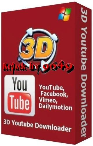 3D Youtube Downloader 1.16.7 beta 1 RePack & Portable by 9649