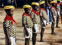 Пионерия в Буркина-Фасо