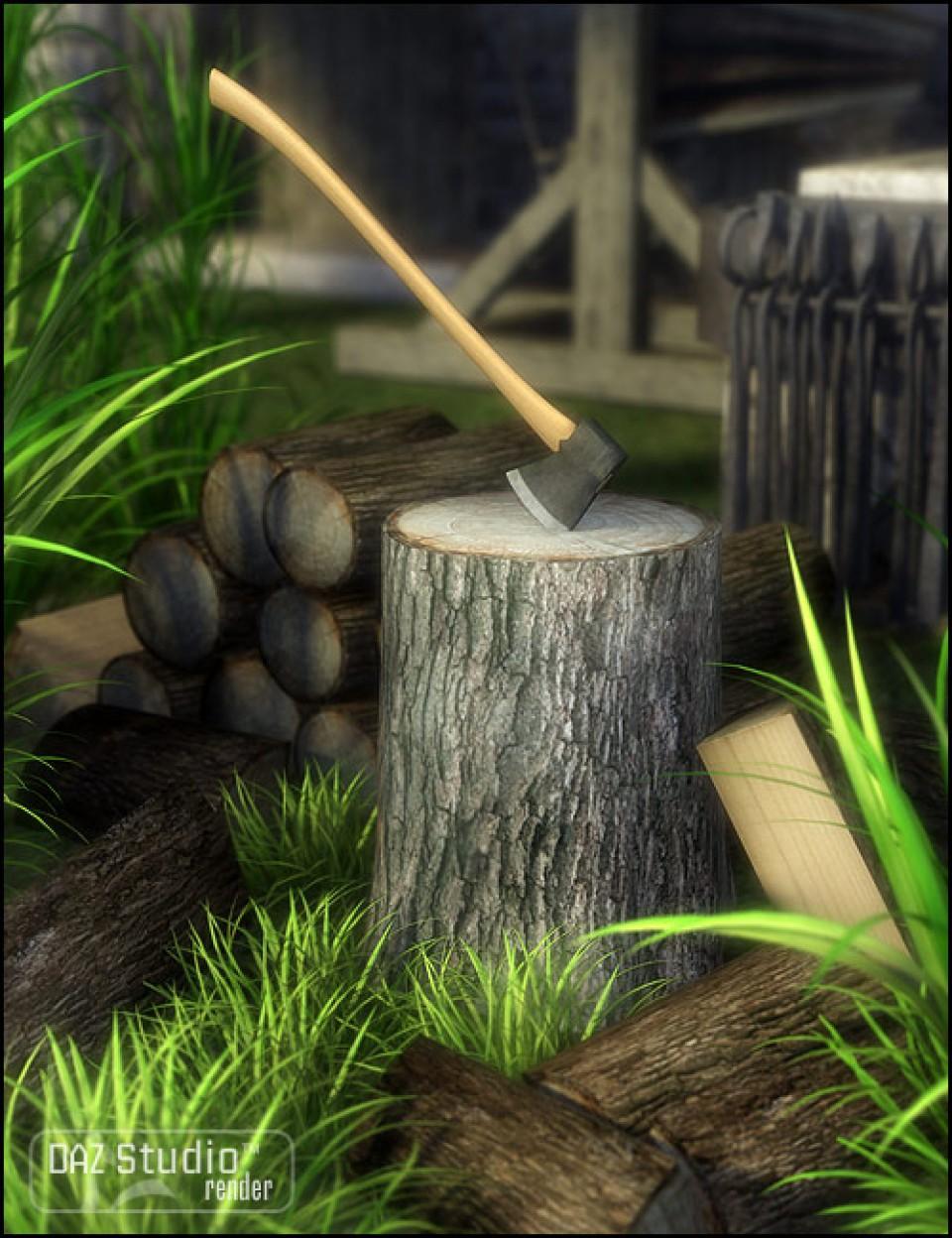 Wood Chopping Kit