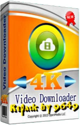 4K Video Downloader 4.9.0.3032 RePack & Portable by 9649
