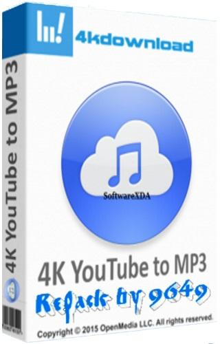 4K YouTube to MP3 3.7.0.2852 RePack & Portable by 9649