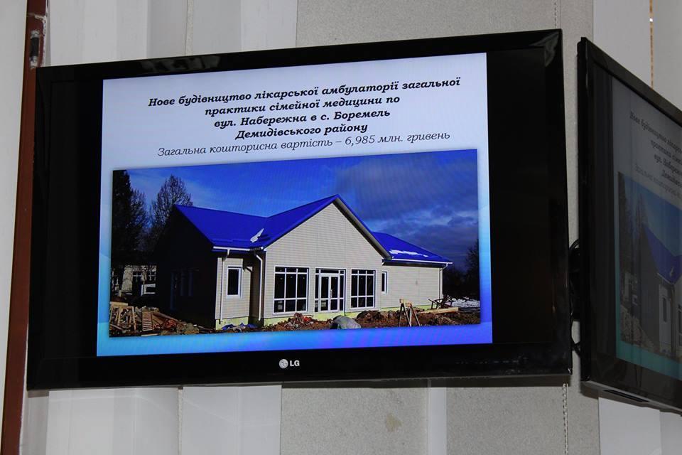 Ще 15 нових сільських амбулаторій запрацюють навесні на Рівненщині