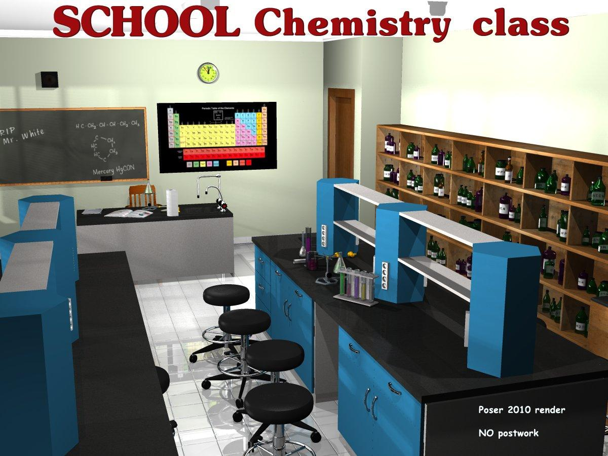 School Chemistry class