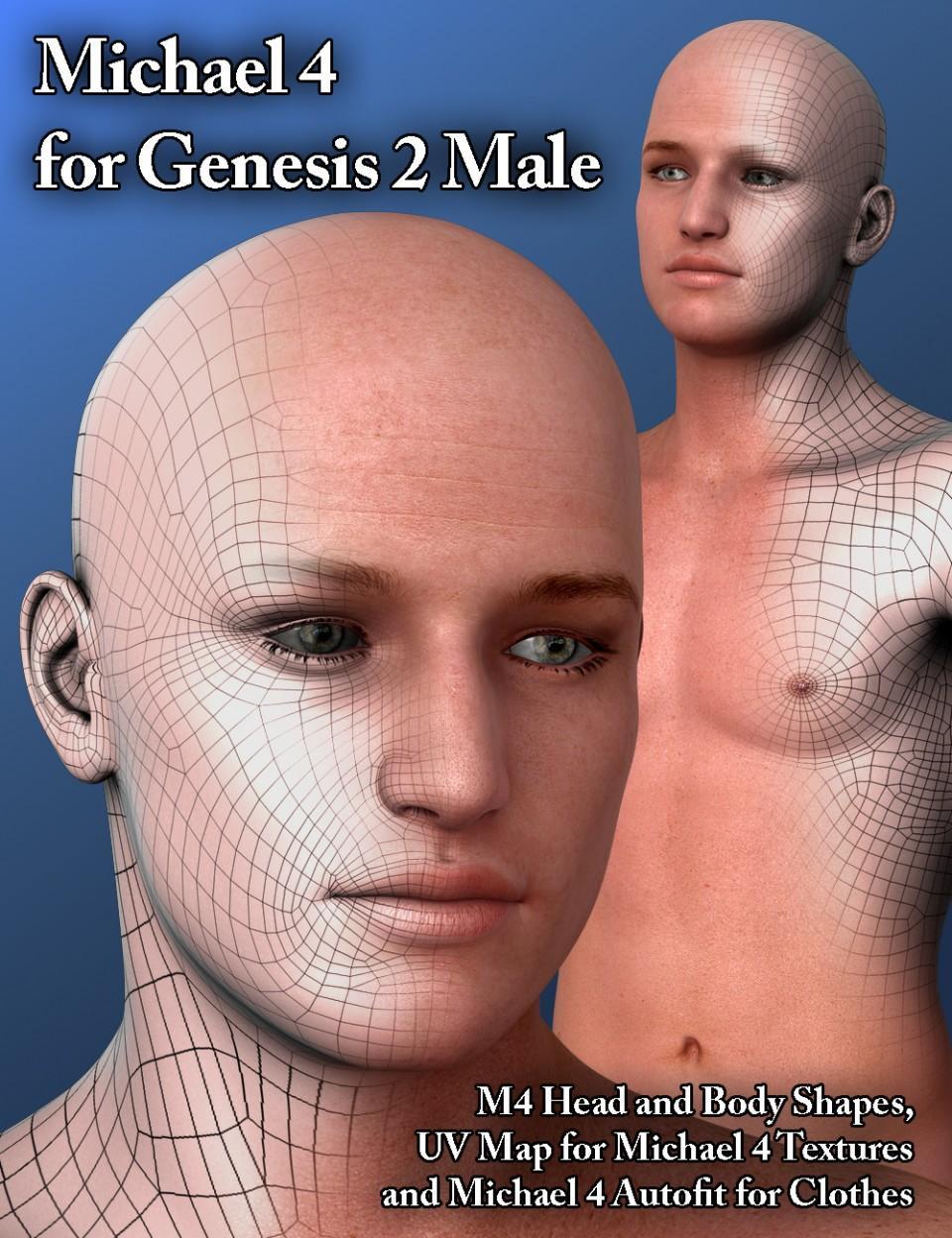 Michael 4 for Genesis 2 Male