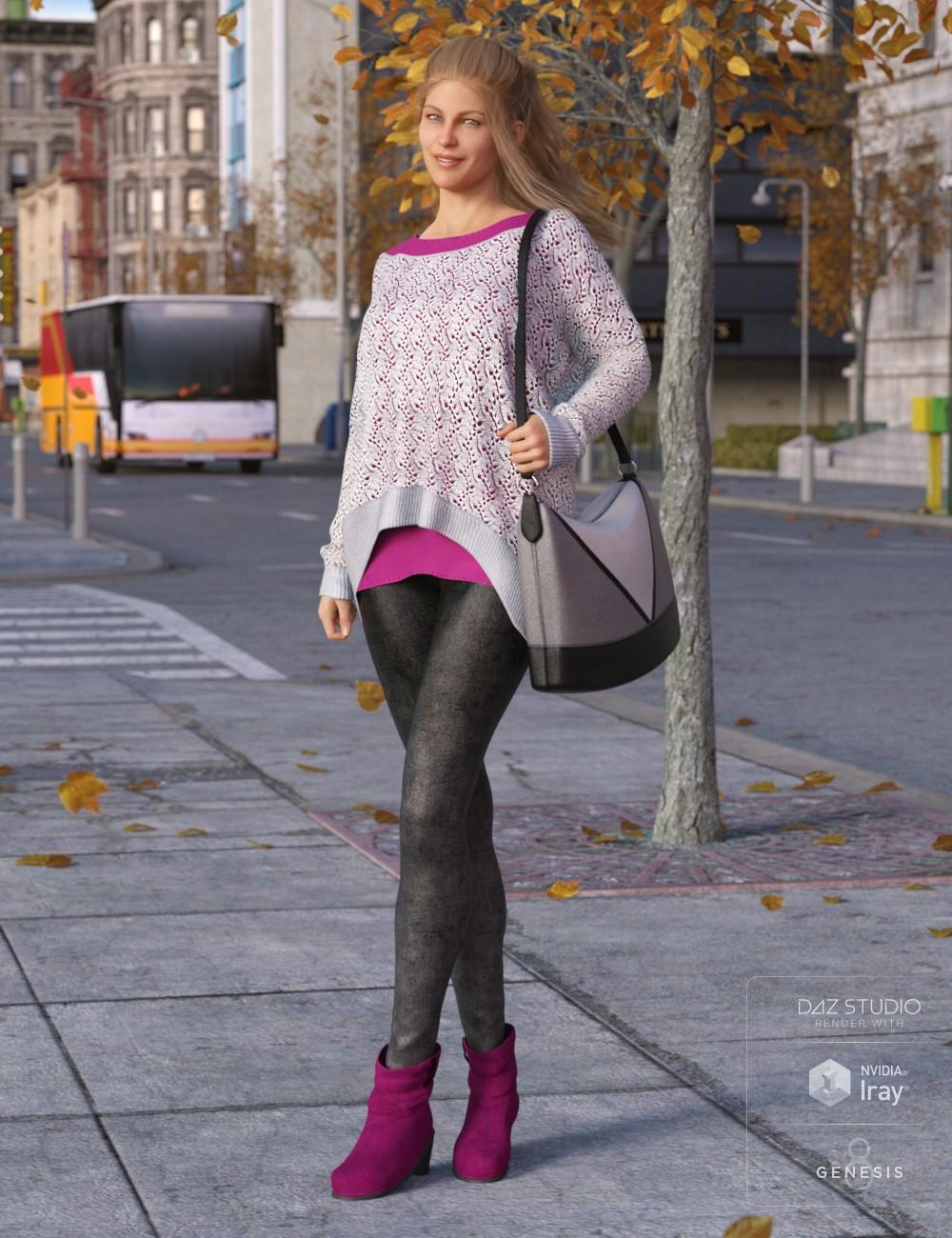 Autumnal Outfit for Genesis 8 Female(s)