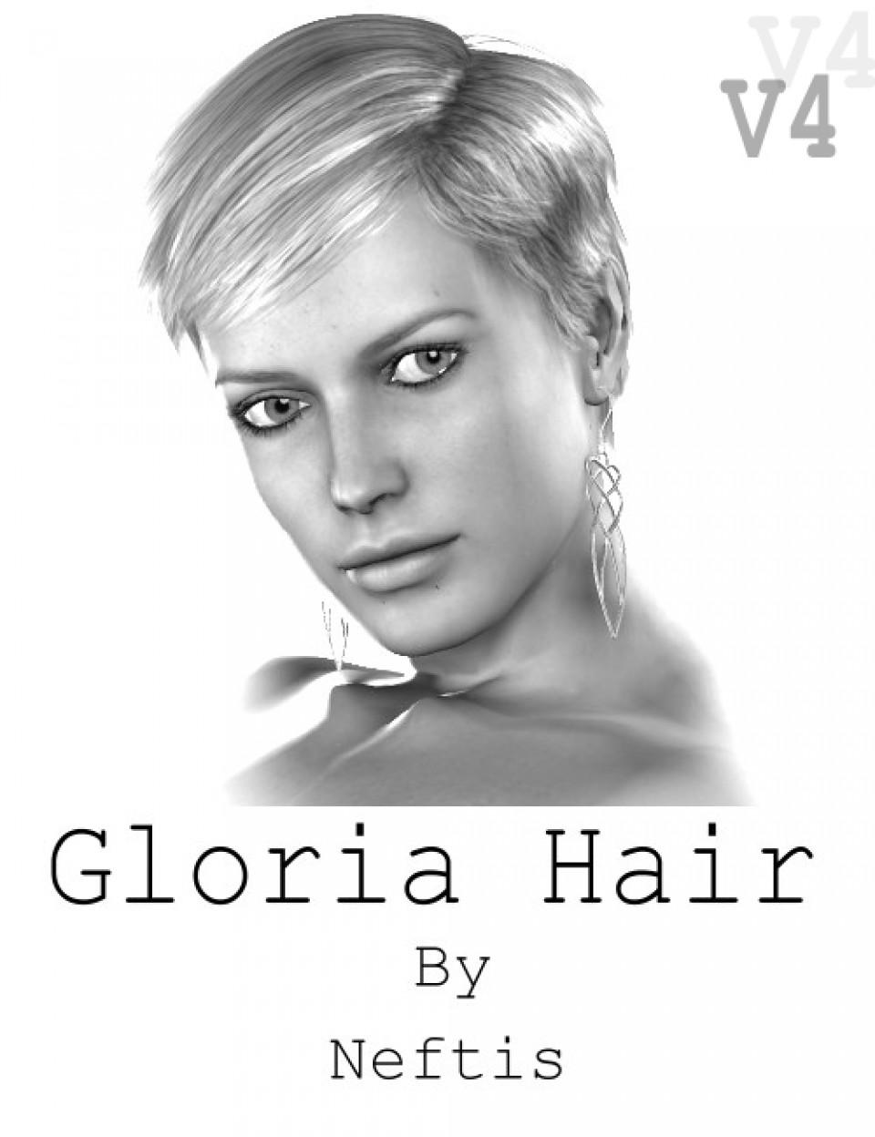 Gloria Short Hairstyle