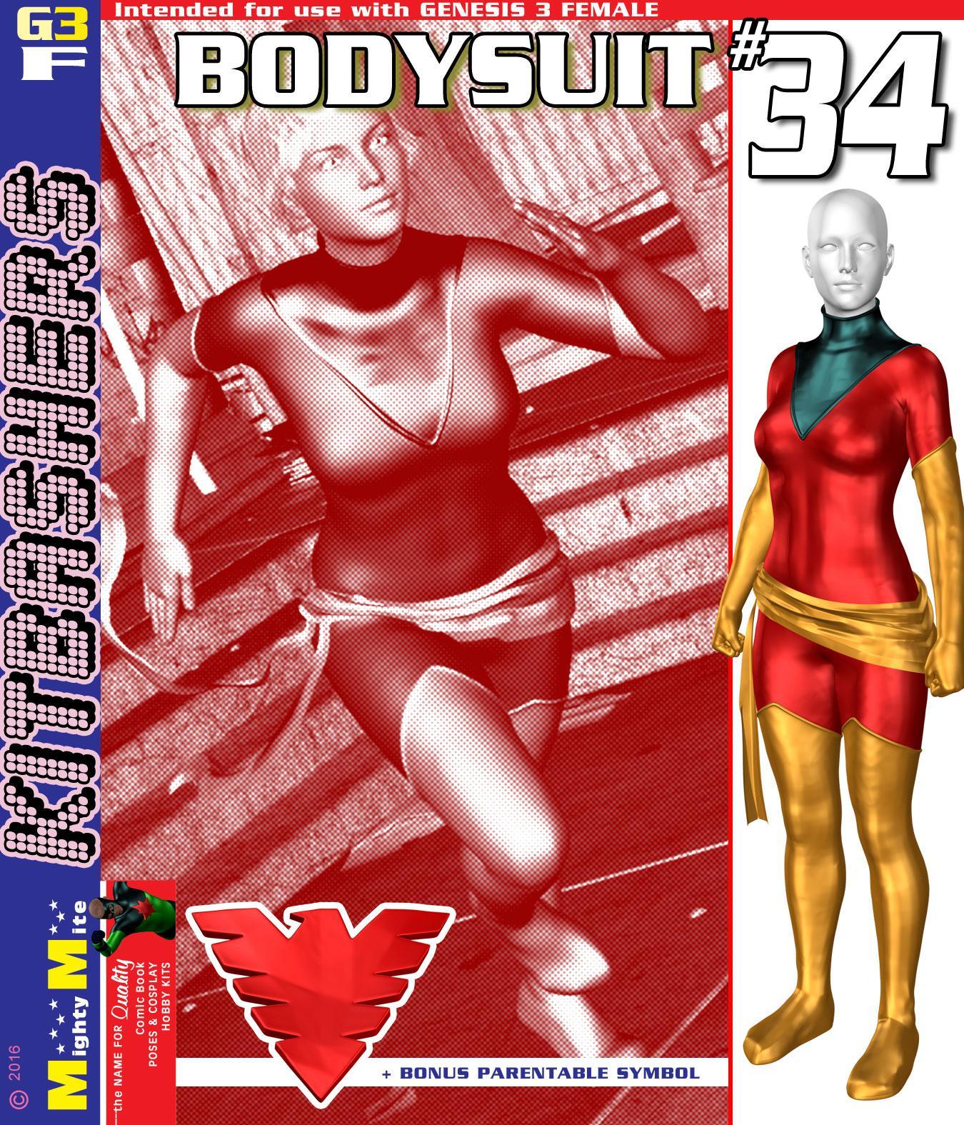 Bodysuit 034 MMKBG3F