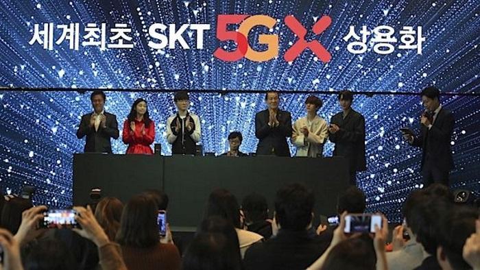 Корея первой запустила коммерческие услуги 5G