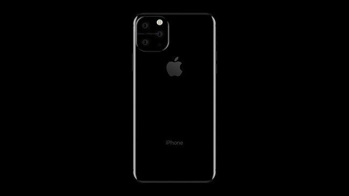 Новый iPhone 11 с квадратный дизайн камеры