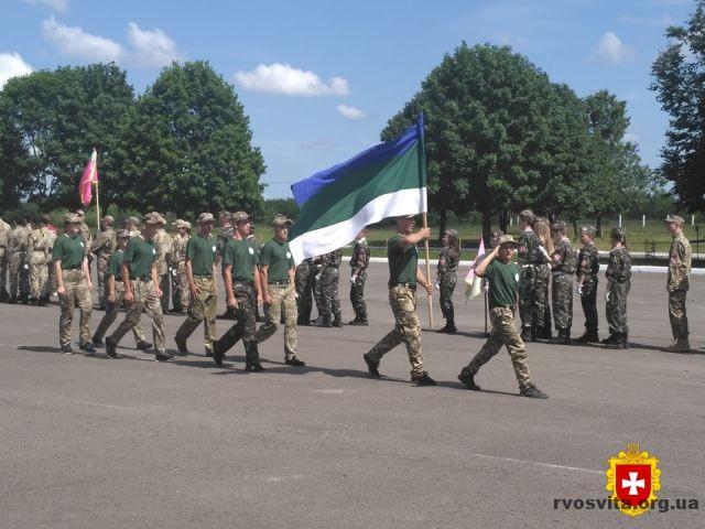 На Рівненському полігоні триває військово-патріотичної гра «Сокіл» (Джура)
