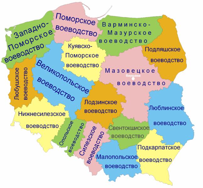 Куклы на карте Польши