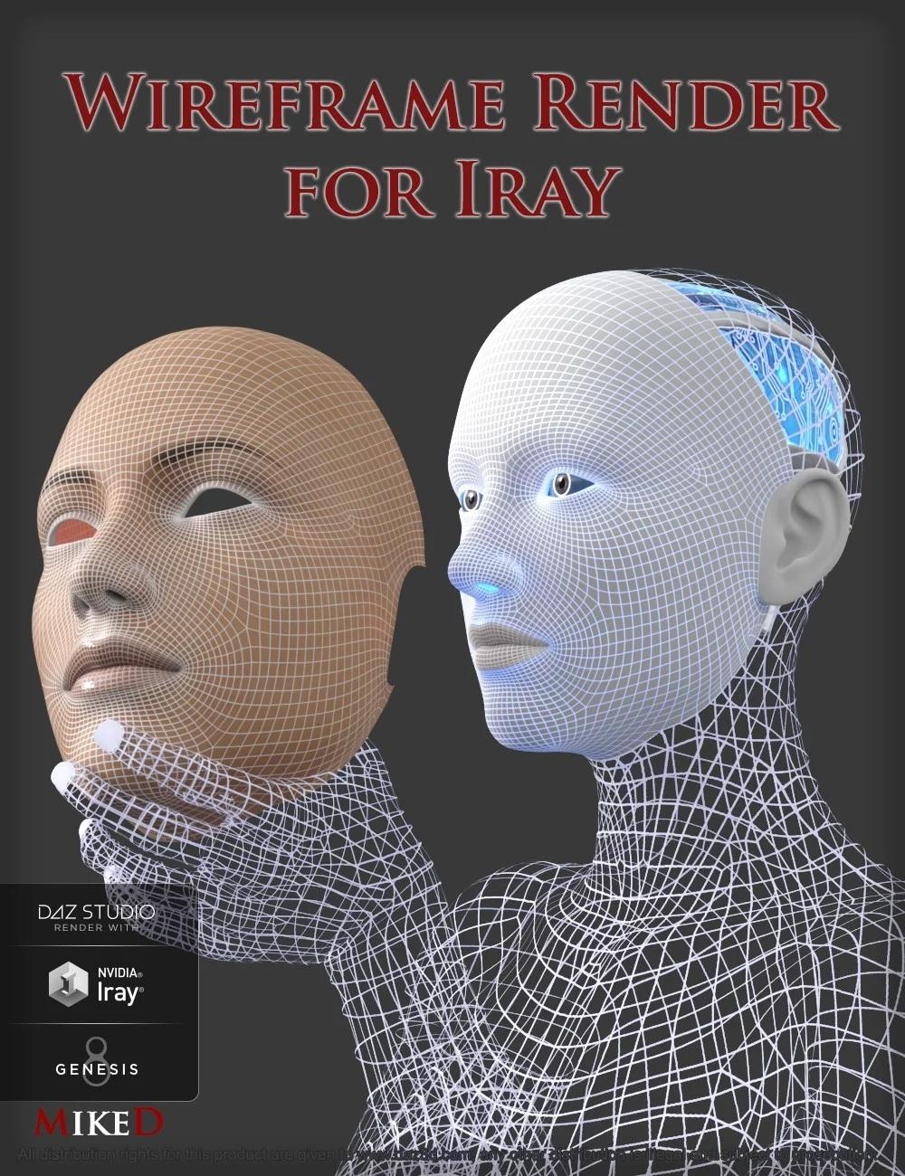 Wireframe Render for Iray
