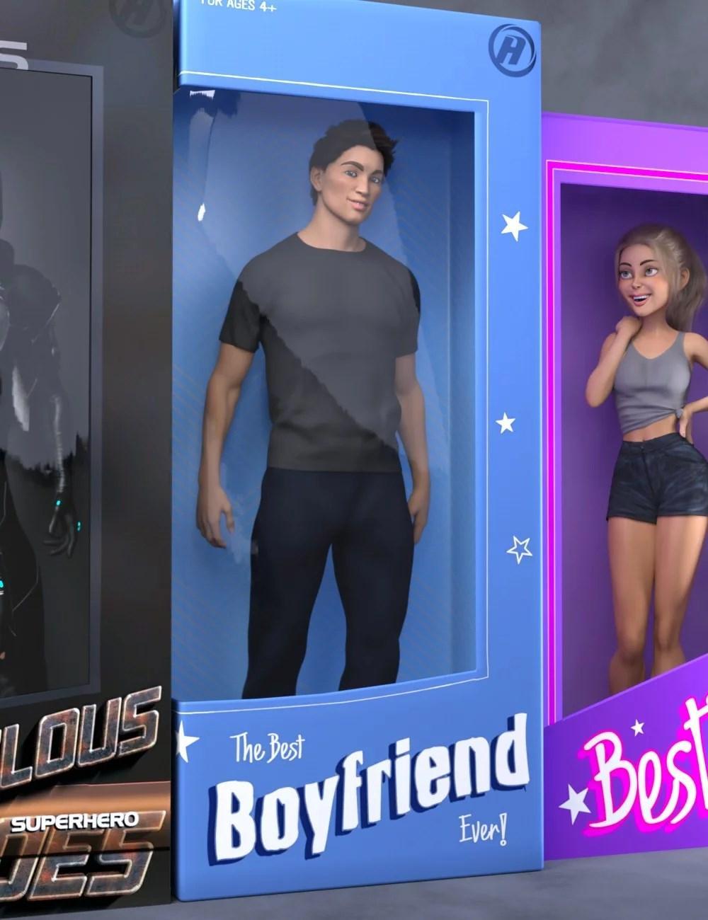 Boyfriend for Genesis 8 Male