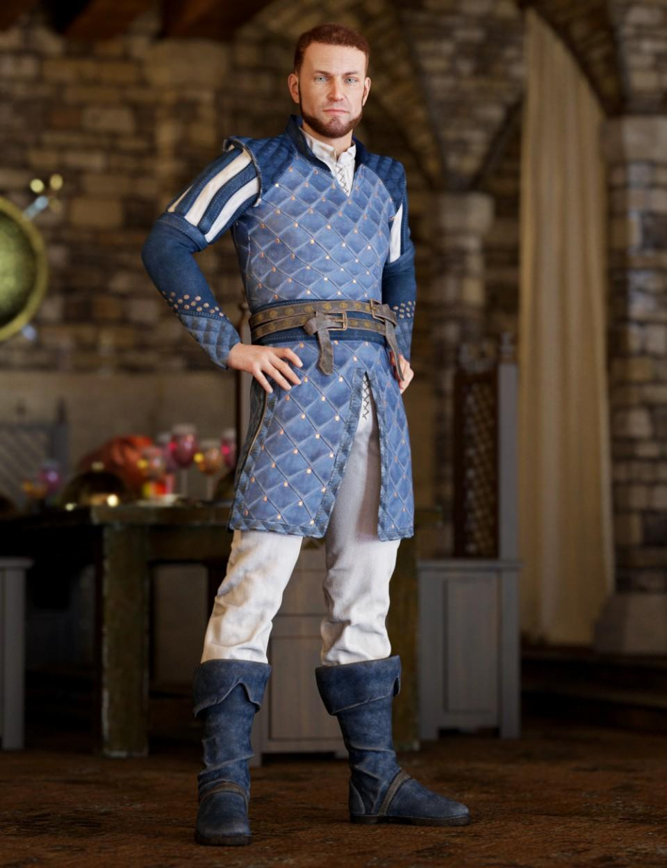 Southern Noble Outfit for Genesis 8 Male(s)