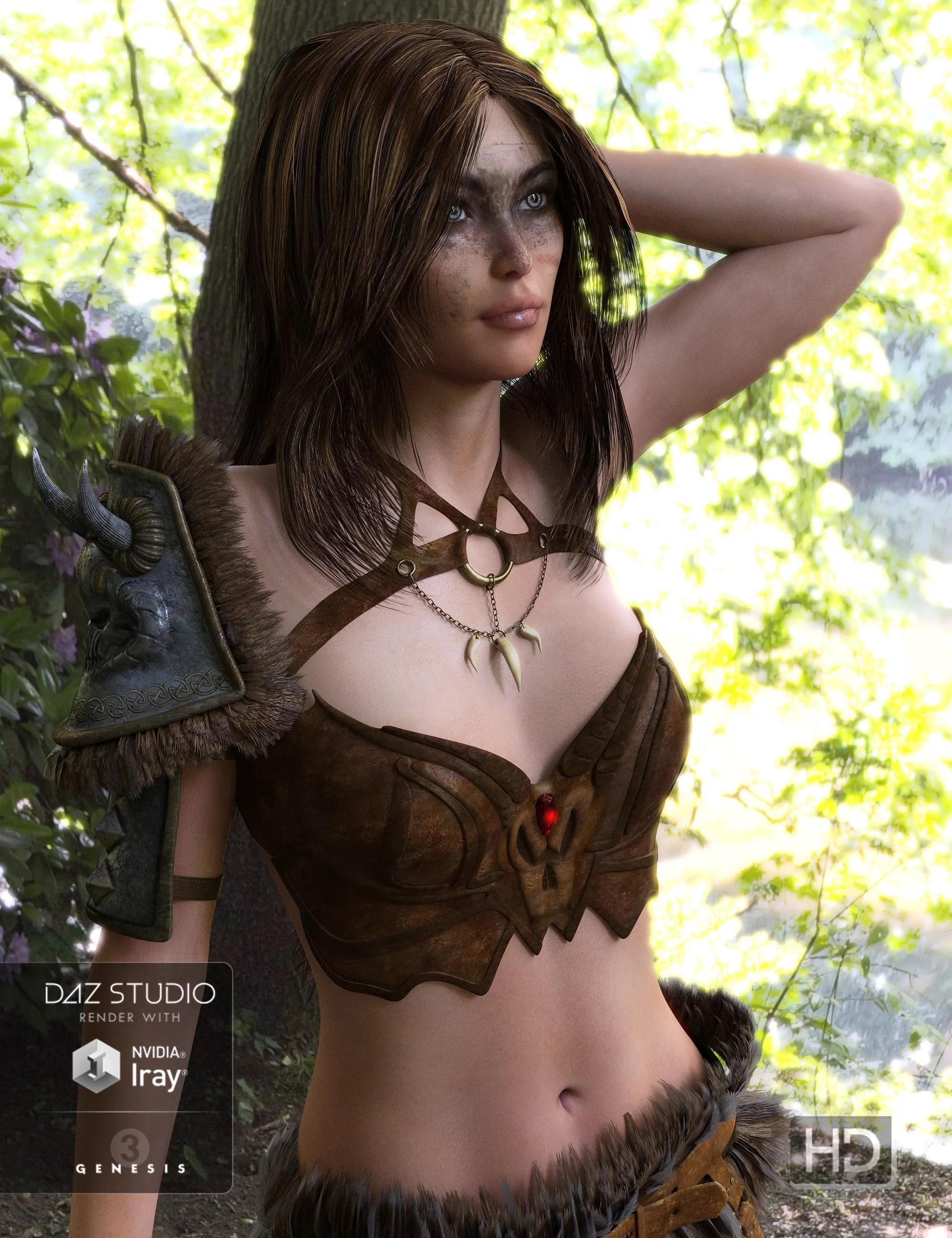 Untamed Warrior for Genesis 3 Female(s)