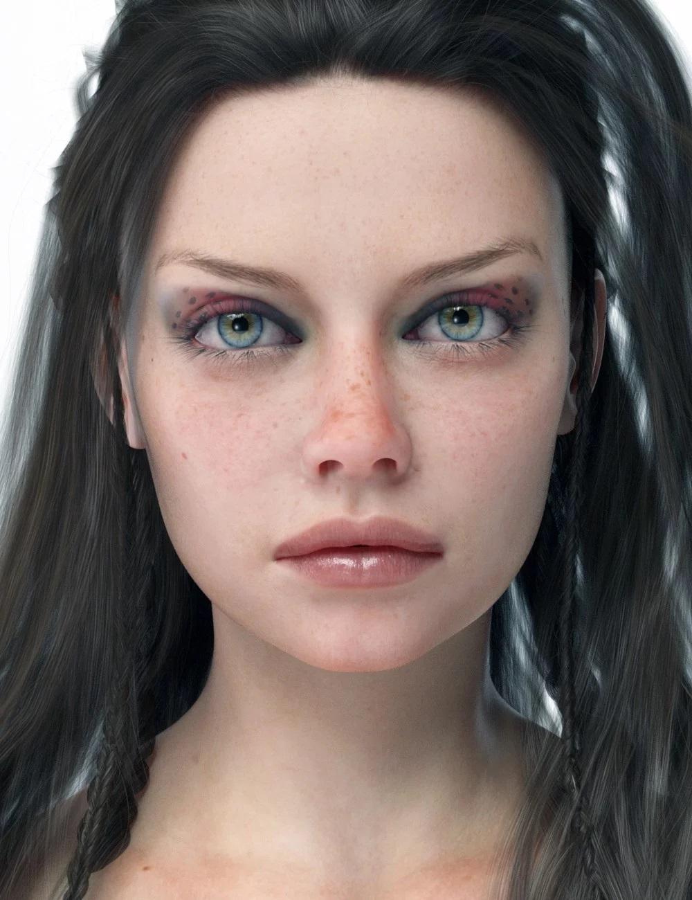 Aino HD For Genesis 8 Female