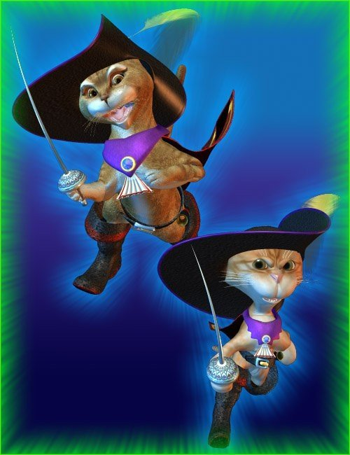 Millennium Cat/Toonimal Cat Puss n Boots