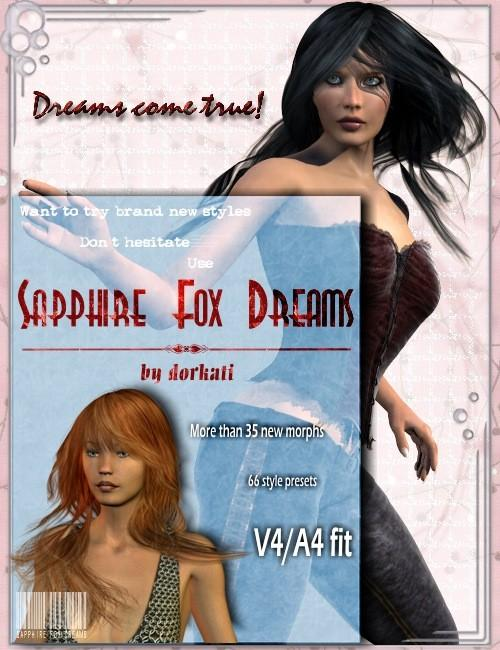 zz* - Sapphire Fox Dreamy Morphs and Styles