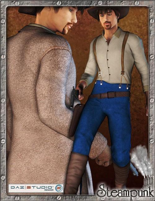 Steampunk Cowboy for David