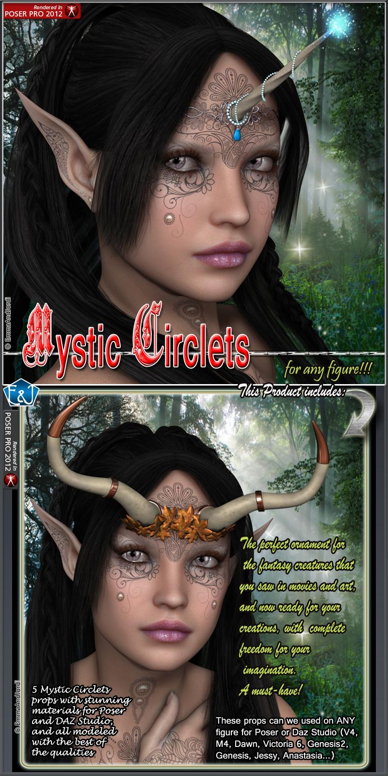 Mystic Circlets For Any Figure