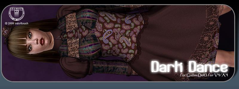 DARK DANCE for GothicDoll3 for V4/A4
