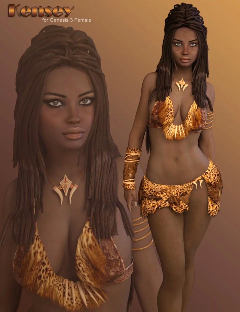 P3D Kensey for Genesis 3 Female