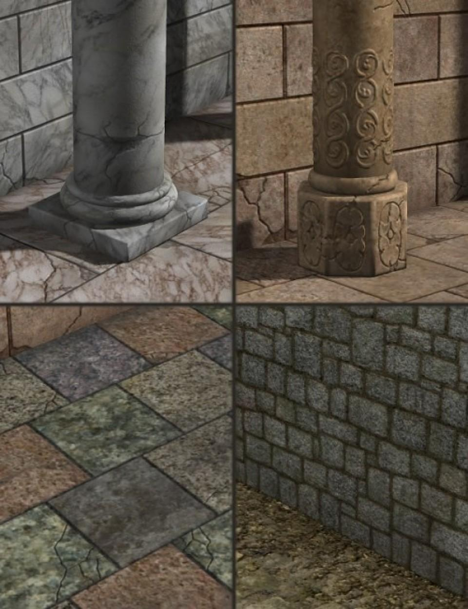 Backdrops Exp. 1 Ancient Stones