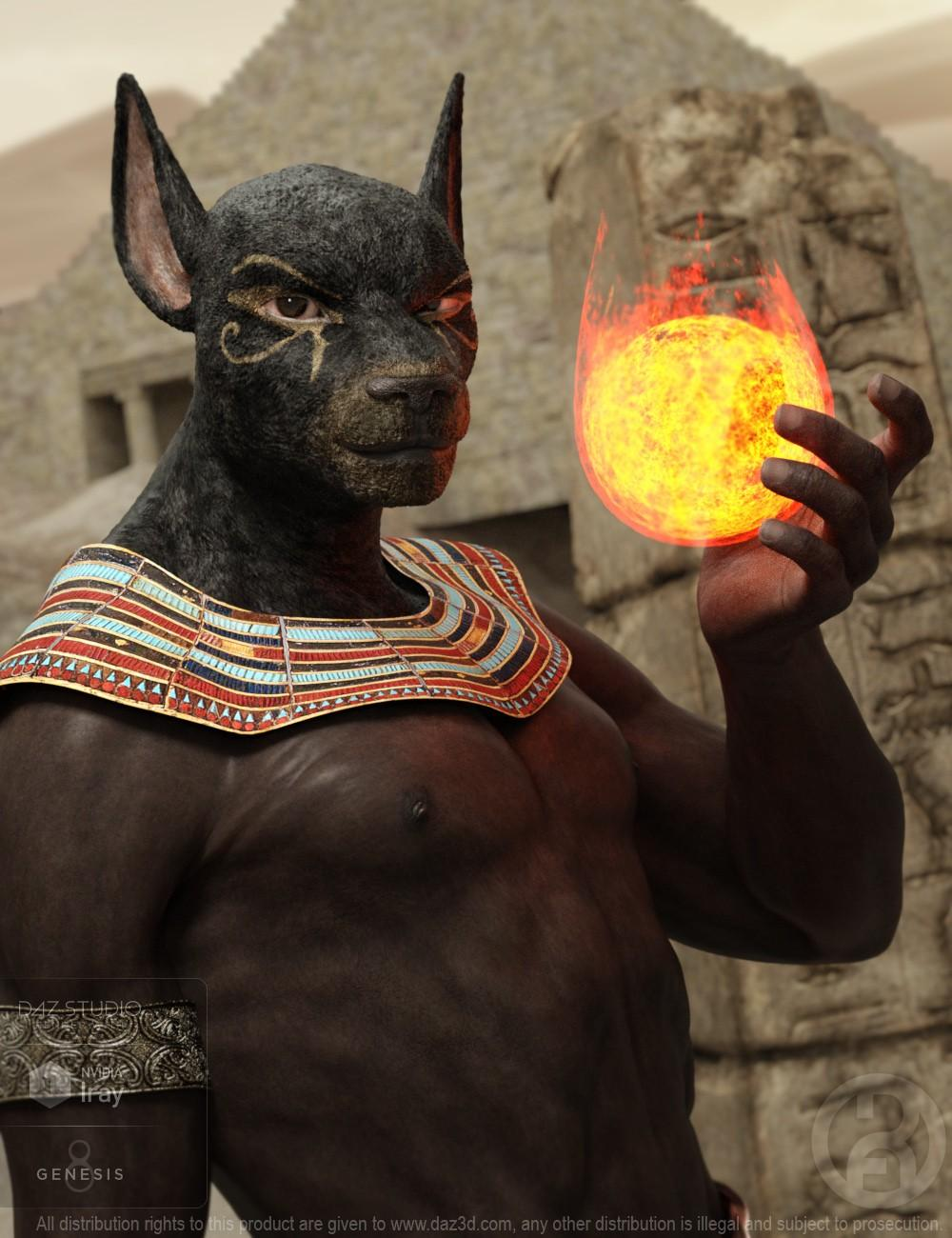 Ancient Anubis for Genesis 8 Male