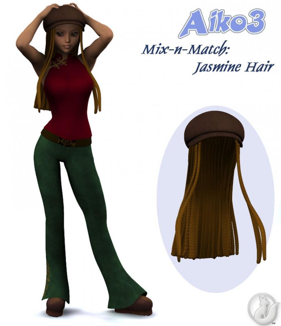 Aiko3 Mix-N-Match: Jasmine Hair