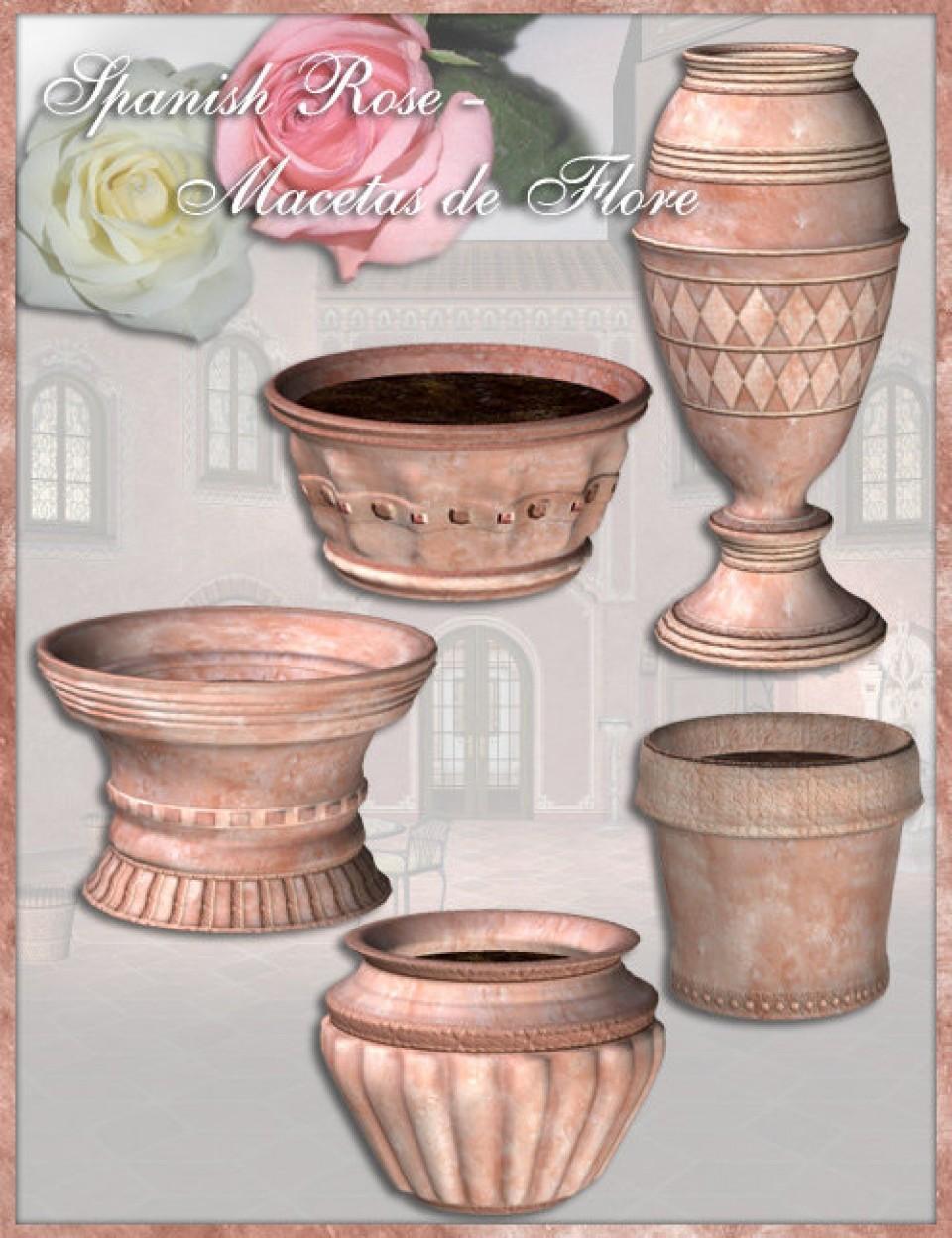 Spanish Rose -- Macetas de Flores